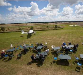 Enstone Flying Club, Club House, Viewing Area