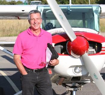 First Solo G-BODO Enstone Flying Club