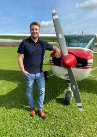 Mike Hoft Enstone Flying Club instructor